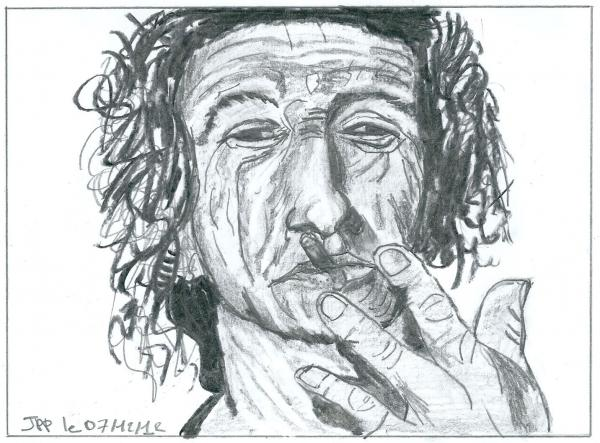 Keith Richards by Boiteadessins